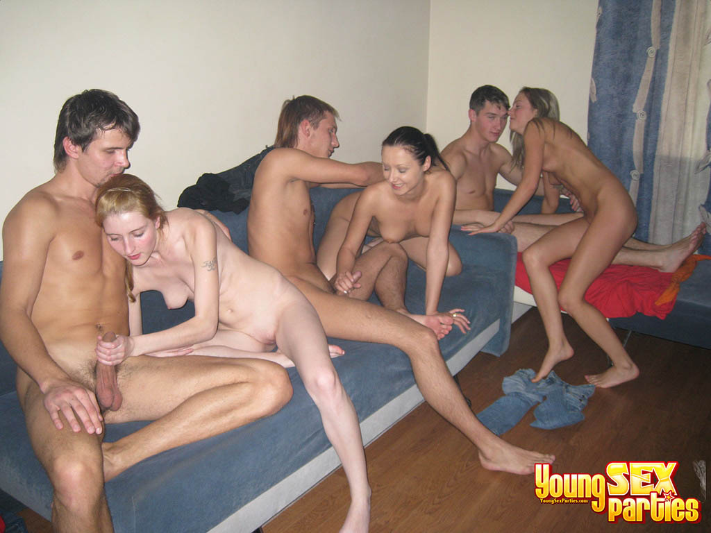 wife at swingers party